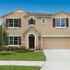 Traditional Exterior by Mercedes Premier Homes