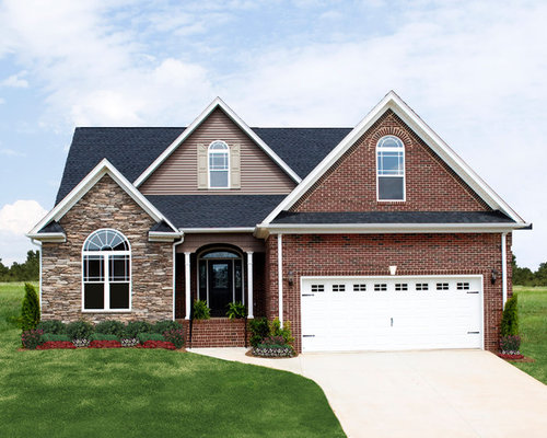 One story ranch style home plans from don gardner architects for Single story brick house plans