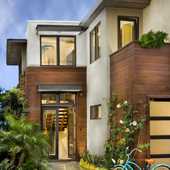 contemporary exterior by Tomaro Design Group