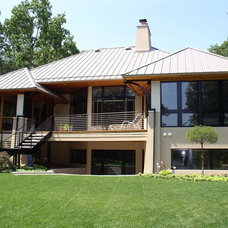 Contemporary Exterior by Architectural Homes by Anders Inc