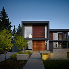 modern exterior by Habitat Studio & Workshop