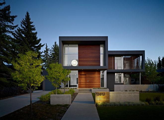 Modern Exterior by Habitat Studio