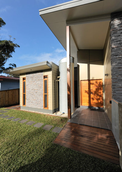 Contemporary Exterior by Rustic Touch Pty Ltd