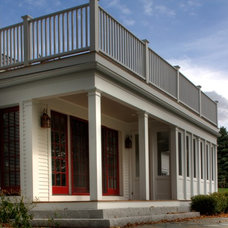 Traditional Exterior by Vermont Vernacular Designs