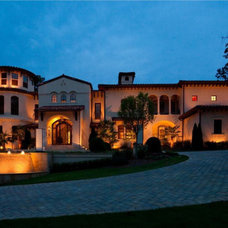 Mediterranean Exterior by The Twelve Oaks Group