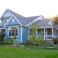 Traditional Exterior by Gander Builders