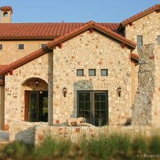 Mediterranean Exterior by J. Bryant Boyd, Design-Build