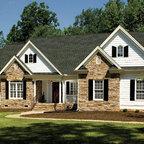 The Trotterville Plan 984 Craftsman Exterior