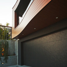 modern exterior by kbcdevelopments