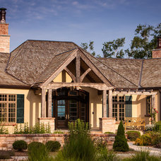 Traditional Exterior by Mitch Wise Design,Inc.