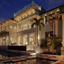 Tropical Exterior by Stofft Cooney Architects