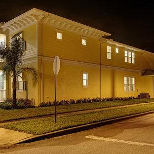Beach style exterior home idea in Orlando