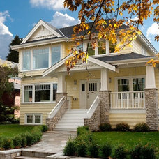 Traditional Exterior by Rockridge Fine Homes