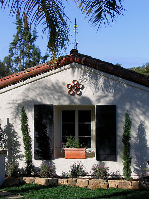 Our 25 best mediterranean exterior home ideas decoration for Spanish style window shutters