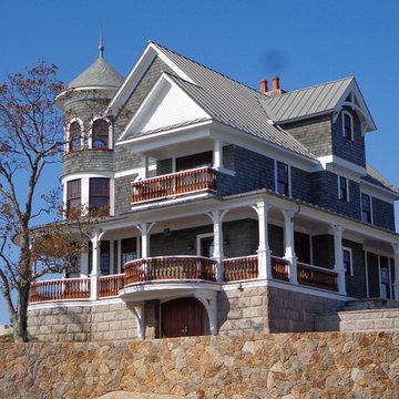 Thimble Island Victorian Home