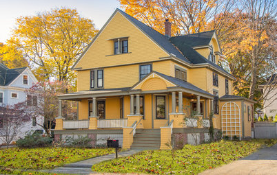 Houzz Tour: The Remaking of a Queen Anne in Boston