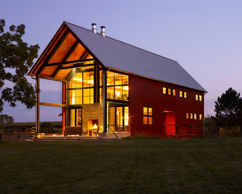 Pole barn house home design ideas pictures remodel and decor - Barn house decor ...