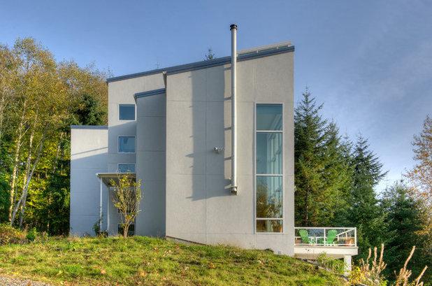 Houzz Tour An Observatory Tops Off A Modern Home