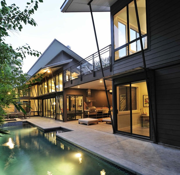 Cool Features From Houstons Modern Home Tour