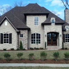 Traditional Exterior by The New Homes Division