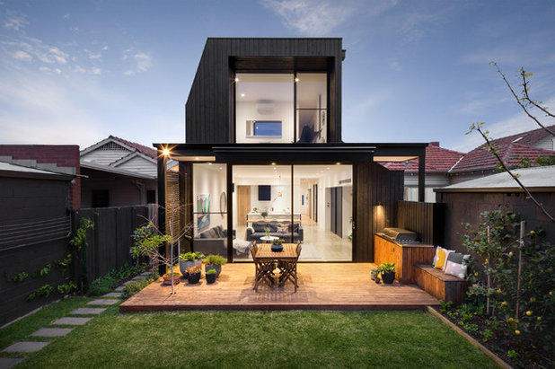Contemporary Exterior by Dylan James