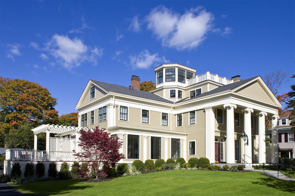 Traditional Exterior by Helios Design Group