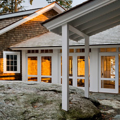 traditional porch by Whitten Architects