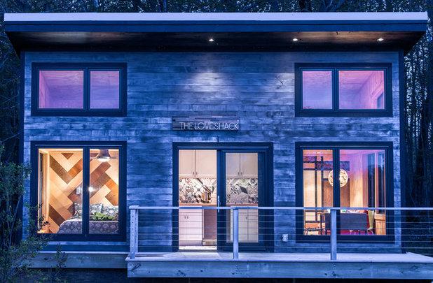 Contemporain Façade by Taylored Architecture PLLC