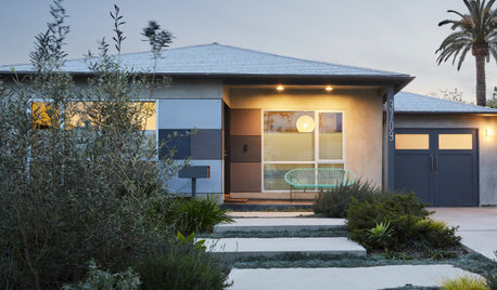 Houzz Tour: Playful Modern Makeover for a 1950 Bungalow