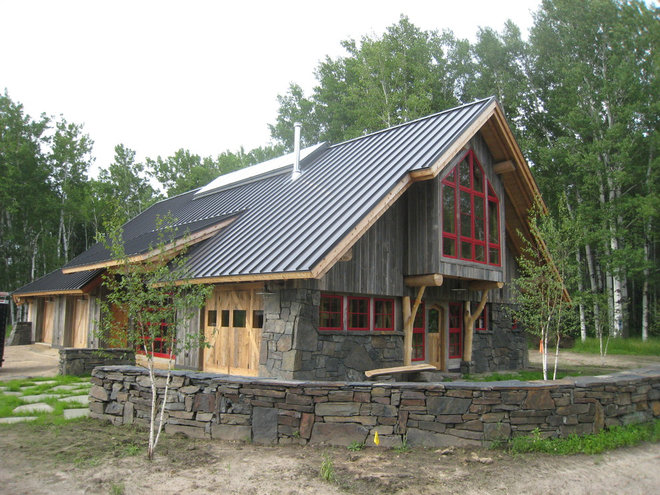 Traditional Exterior by Hillbrand Woodworking, LLC
