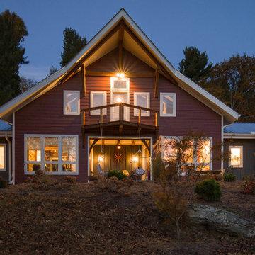 Timber Frame Barn Houses