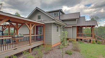 Timber Frame House Covered Breezeway