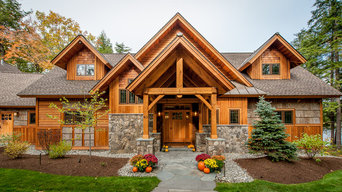 Timberframe Lake House