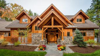Timberframe Lake House