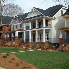 Traditional Exterior by Johnston Design Group