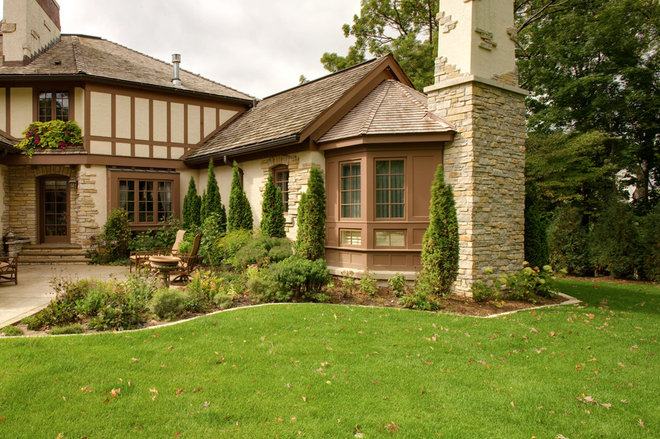 Traditional Exterior by Bruce Kading Interior Design