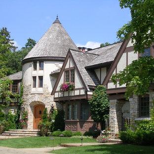 Elegant two-story exterior home photo in Minneapolis