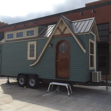Tiny House project by Odyssey Leadership academy. We got to stage the interior.