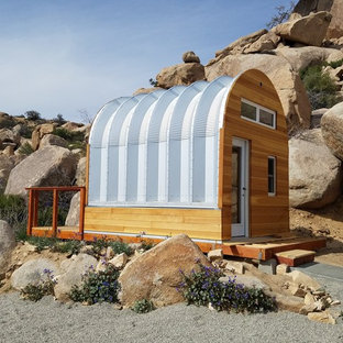 Tiny Quonset Hut Home in the California Mountains