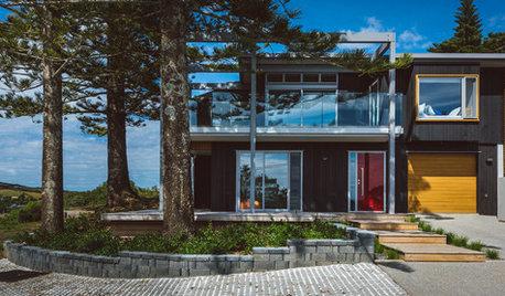 Houzz Новая Зеландия: Загородный дом на острове