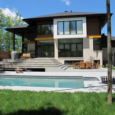 Contemporary Exterior by TOC design