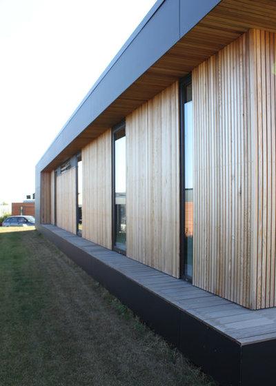 Trendy Hus & facade by Rasmus Jensen ARKITEKT MAA