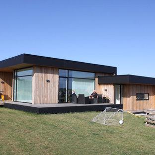 Foto della facciata di una casa moderna