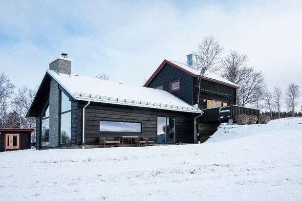 Rustikt Hus & facade by T+E Arkitekter