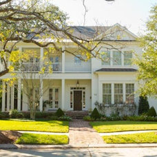 Traditional Exterior by Bockman + Forbes Design