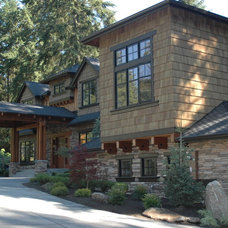 Craftsman Exterior by The Craftsman Group LLC