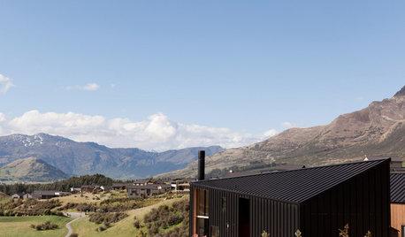 Houzz Новая Зеландия: Дом-корабль высоко над уровнем моря