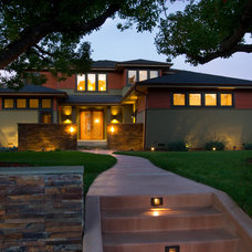 Craftsman Exterior by SDG Architecture, Inc.