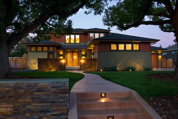 Curb appeal 10 updated architectural styles for Craftsman style architecture