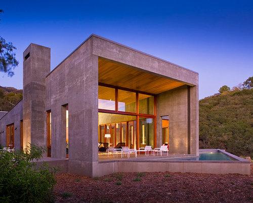 Foto e idee per facciate di case facciata di una casa in for Piani artistici per artigiani con suite di artisti